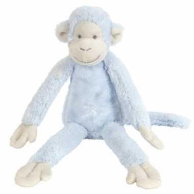 Blauw knuffel aapje kopen