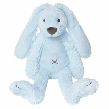 Blauw knuffel konijn kopen