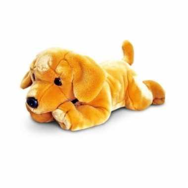 Blonde labrador knuffel kopen