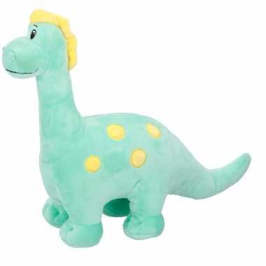 Brontosaurus pluche dino knuffel groen kopen