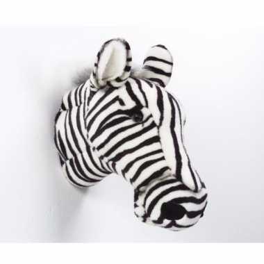 Decoratie kop zebra kopen