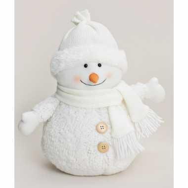 Decoratie sneeuwpop muts kopen
