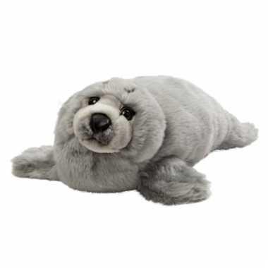 Grijze knuffel zeehond kopen