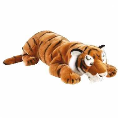 Grote liggende tijger pluche kopen