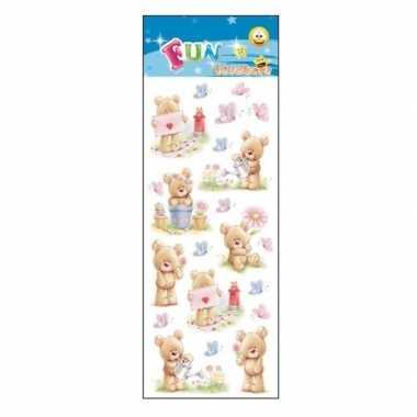 Kinder stickers teddyberen kopen