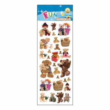 Kinder teddyberen stickers kopen