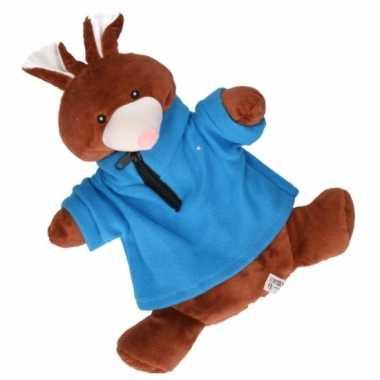 Knuffel kruik bruin konijn trui kopen