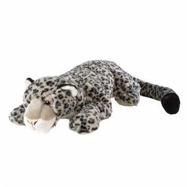 Knuffel sneeuw luipaard kopen
