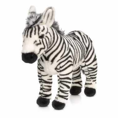 Knuffel staande zebra kopen