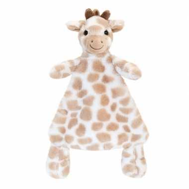 Knuffeldoekje giraffe bruin gevlekt tuttel kopen