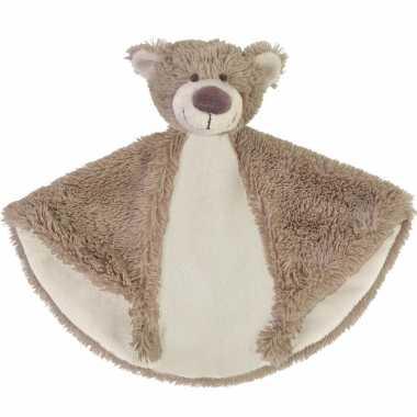 Kraamkado knuffeldoekje beer bella kopen