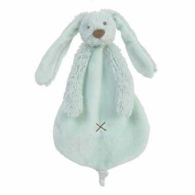 Kraamkado knuffeldoekje konijn richie kopen