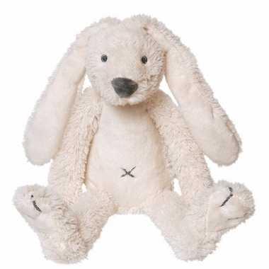 Kraamkado konijnen knuffel wit kopen