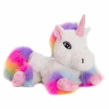 Magnetron knuffel witte unicorn kopen