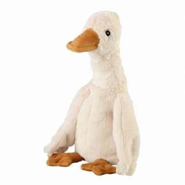 Opwarmbare knuffel eend wit kopen