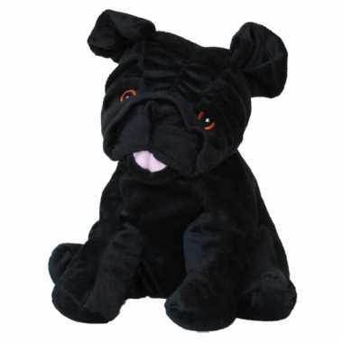 Opwarmbare knuffel hond mopshond kopen