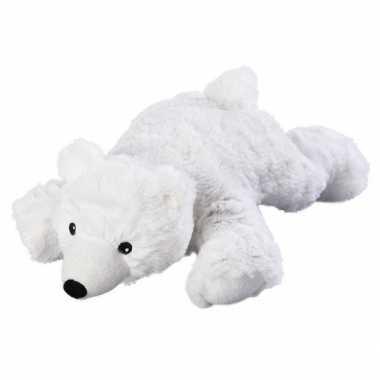 Opwarmbare knuffel ijsbeer kopen
