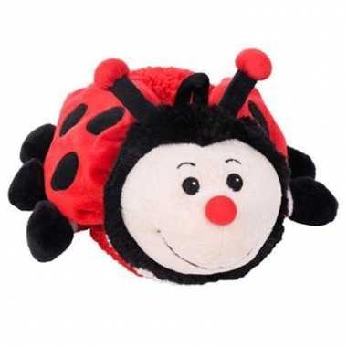 Opwarmbare knuffel lieveheersbeest kopen