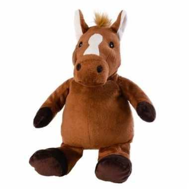 Opwarmbare knuffel paard kopen