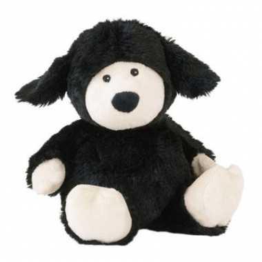 Opwarmbare knuffel schaap zwart kopen