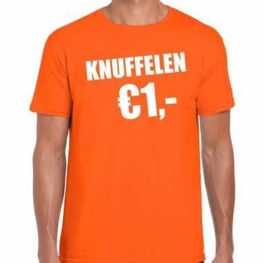 Oranje knuffelen euro shirtje koningsdag t shirt heren kopen
