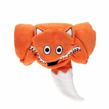 Oranjee vos fleecedeken cm kopen