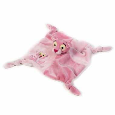 Pink Panter baby knuffeldoekje kopen