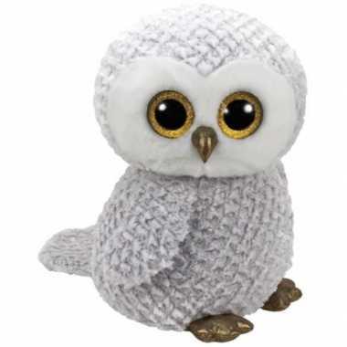 Pluche beanie knuffel uil owlette kopen