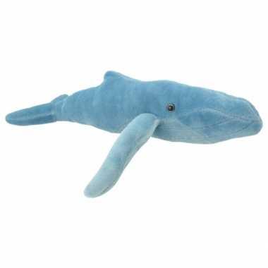 Pluche bultrug walvis knuffeldier kopen