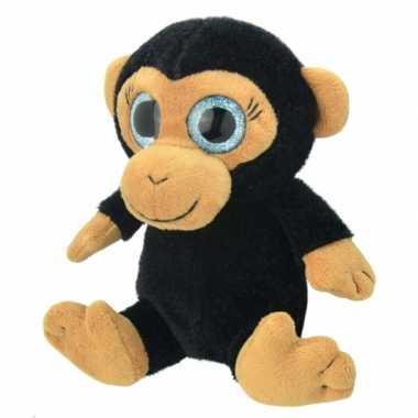 Pluche chimpansee aap knuffeldier kopen