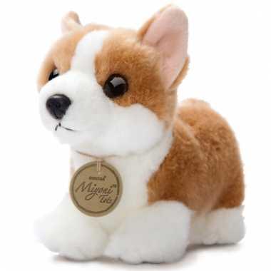 Pluche corgi puppy hond knuffeldier kopen