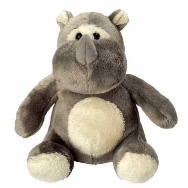 Pluche dierenknuffel neushoorn kopen