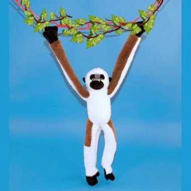 Pluche hangende apen knuffel kopen
