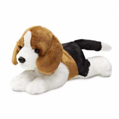 Pluche honden knuffeldier beagle kopen