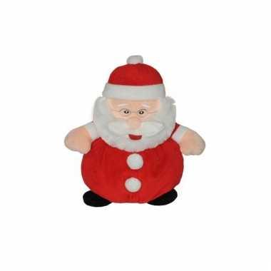 Pluche Kerstman knuffel kopen