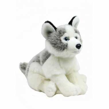 Pluche knuffel Husky hond kopen