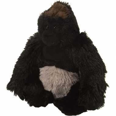 Pluche knuffel knuffeldier gorilla zwart kopen