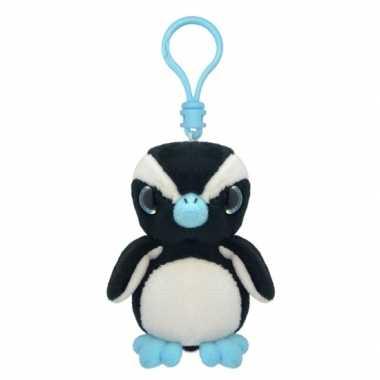 Pluche knuffel pinguin sleutelhanger kopen
