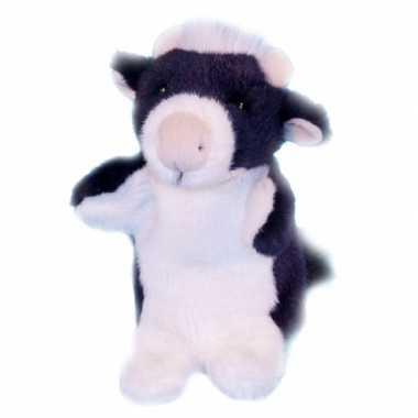 Pluche koe handpoppen kopen
