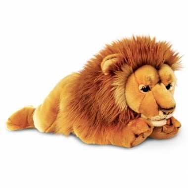 Pluche liggende leeuw kopen