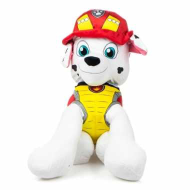 Pluche marshall paw patrol dino rescue knuffel hondje kopen