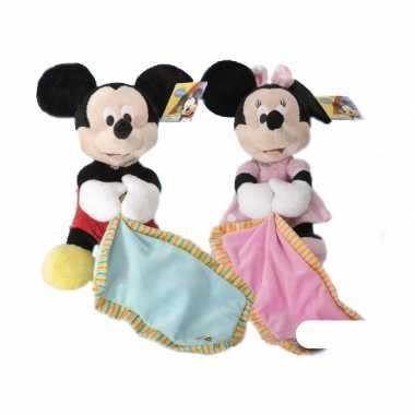 Pluche Minnie Mouse knuffeldoek kopen
