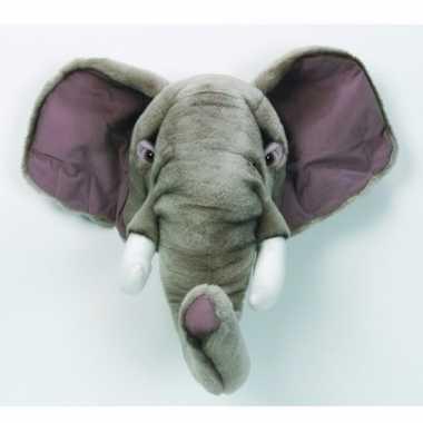 Pluche olifanten hoofd kopen