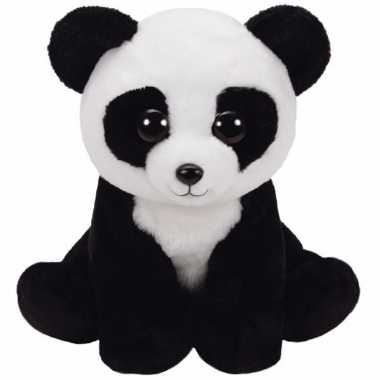 Pluche pandabeertje ty beanie classic baboo kopen
