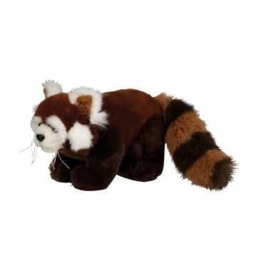 Pluche rode panda knuffel kopen
