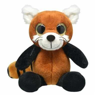 Pluche rode panda knuffeldier kopen