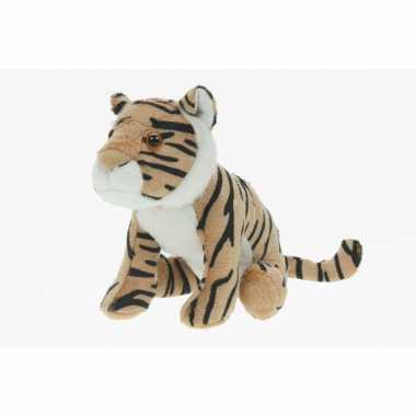 Pluche tijger knuffeldier bruin speelgoed kopen