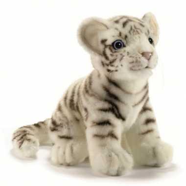 Pluche tijgers wit kopen
