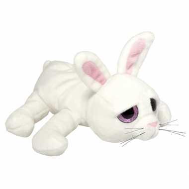 Pluche wit konijn knuffeldier kopen