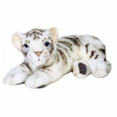 Pluche witte tijger welp kopen